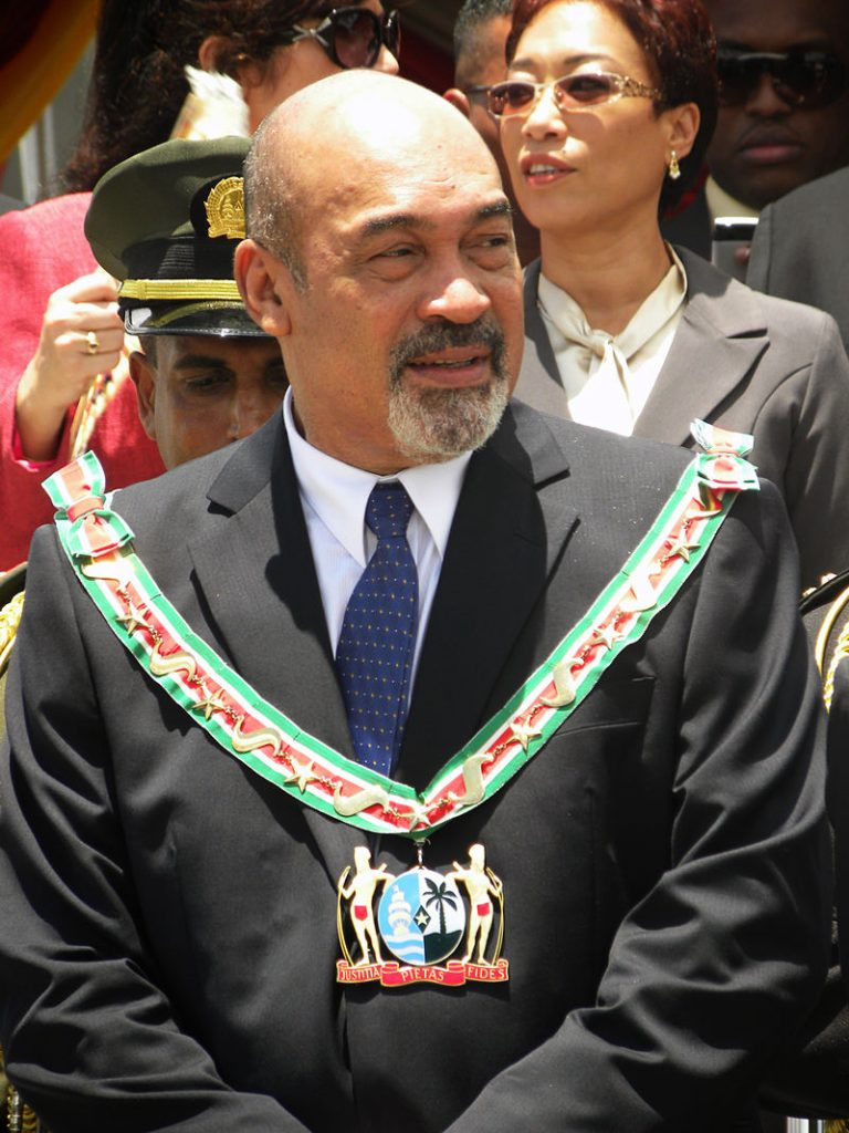 """Desi Bouterse President Suriname"""