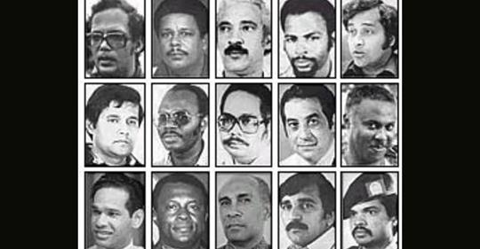 de 15 slachtoffers van 8 december