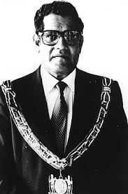 """ L. Ramdat Misier President Suriname"""