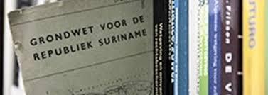 de grondwet van de Republiek Suriname