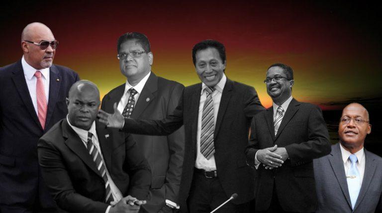 DE 4 POLITIEKE LEIDERS EN OVERWINNAARS VAN DE VERKIEZINGEN VAN 2015